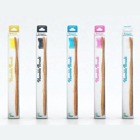 Humble Brush bambusz fogkefe soft