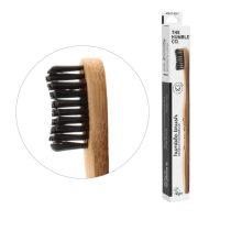 Humble Brush bambusz fogkefe soft - fekete