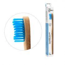 Humble Brush bambusz fogkefe soft - kék
