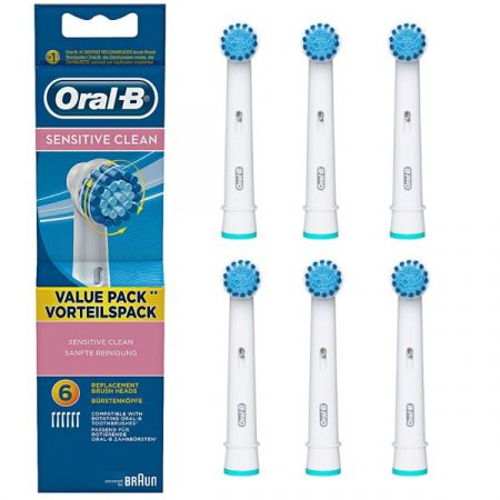 Oral-B EBS17-6 Sensitive Clean pótfej 6db