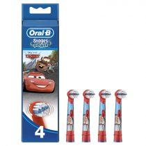 Oral-B EB10-4 Stages Power gyermek fogkefe pótfej Verdák 4db