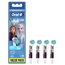 Oral-B EB10-4 Stages Power gyermek fogkefe pótfej Frozen 4db