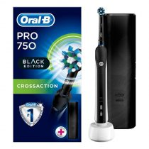Oral-B PRO 750 CrossAction Black Edition elektromos fogkefe
