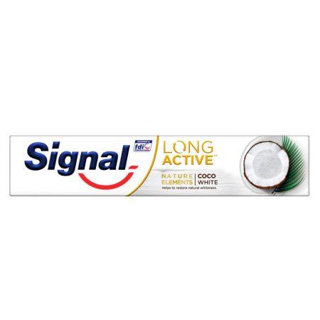 Signal Long Active Nature Elements Coco White fogkrém 75ml
