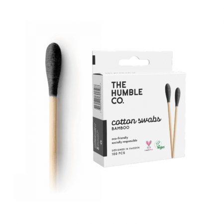 Humble Bambusz fültisztitó pálcika 100db  - fekete