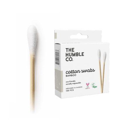 Humble Bambusz fültisztitó pálcika 100db  - fehér