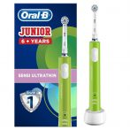 Oral-B PRO 400 Junior 6+ Zöld elektromos fogkefe