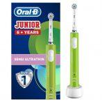 Oral-B PRO 400 Junior 6+ Zöld elektromos fogkefe