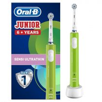 Oral-B Junior 6+ Zöld elektromos fogkefe