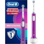 Oral-B PRO 400 Junior 6+ Lila elektromos fogkefe