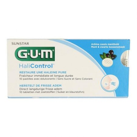 GUM HaliControl tabletta 10db