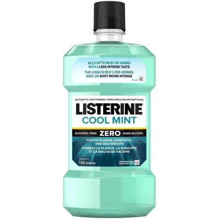 Listerine (ZERO) COOL MINT Milder Taste szájvíz 1 Liter