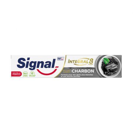 Signal Long Active Nature Elements Charcoal White & Detox fogkrém 75ml