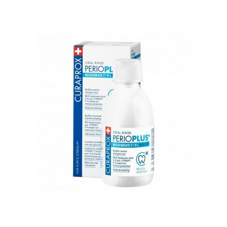 CURAPROX Perio Plus+ Regenerate szájvíz 0,09% CHX + CITROX 200ml