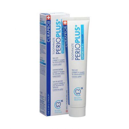 CURAPROX Perio Plus+ Support fogkrém 0,09% CHX + CITROX 75ml