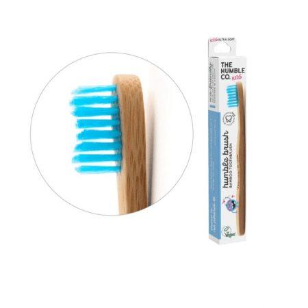 Humble Brush bambusz gyermek fogkefe ultra soft - kék