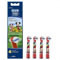 Oral-B EB10-4 Stages Power gyermek fogkefe pótfej Mickey 4db