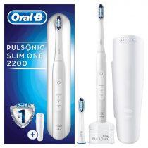 Oral-B Pulsonic Slim 2200 White elektromos fogkefe