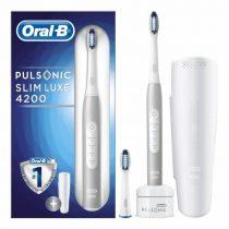 Oral-B Pulsonic Luxe 4200 Platinum elektromos fogkefe