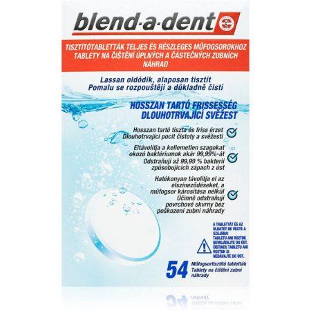 Blend-a-dent protézis tisztító tabletta 60db - Complete