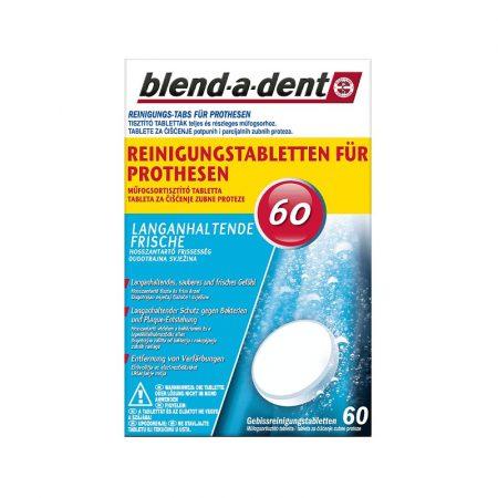 Blend-a-dent protézis tisztító tabletta 60db - Fresh