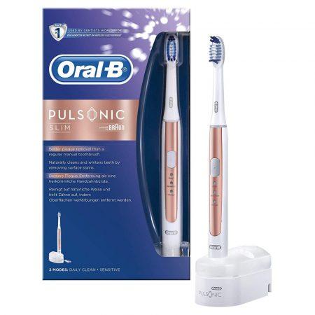 Oral-B Pulsonic Slim 1100 Rose Gold elektromos fogkefe