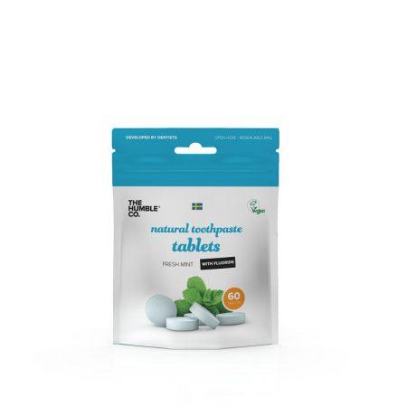 Humble fogkrém tabletta 60db menta - fluoridos