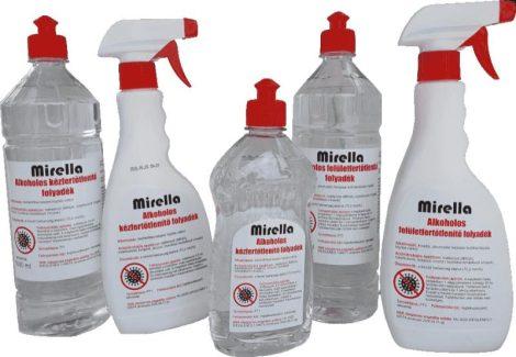 Mirella felületfertőtlenítő szórófejes 500 ml