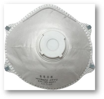 FFP2 szelepes maszk