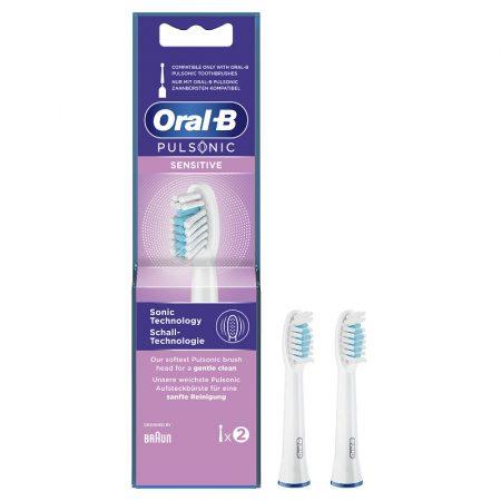 Oral-B Pulsonic Sensitive pótfej 2db