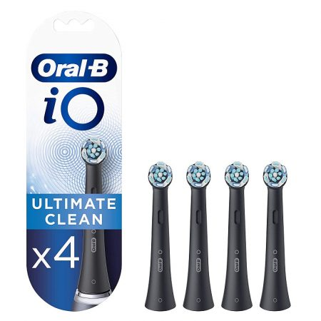 Oral-B iO Ultimate Clean Black pótfej 4db