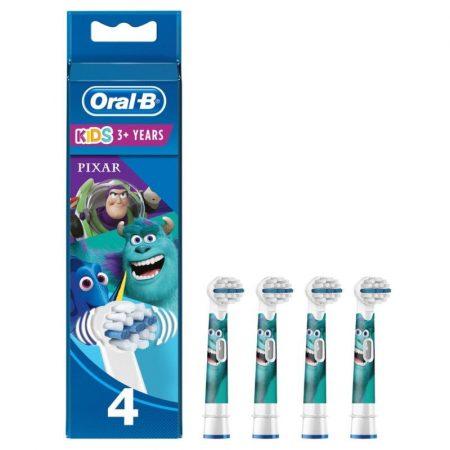 Oral-B EB10-4 Stages Power gyermek fogkefe pótfej Pixar 4db