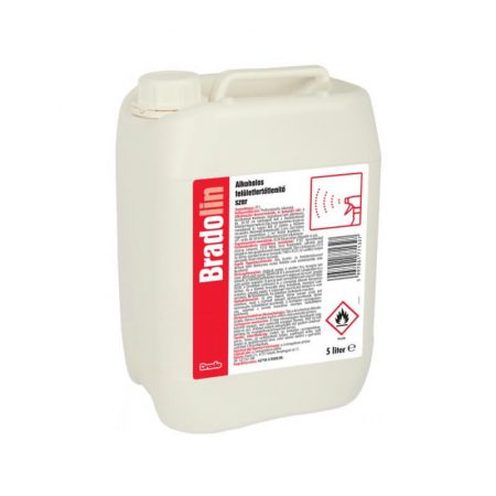 Bradolin alkoholos felületfertőtlenítő 5L