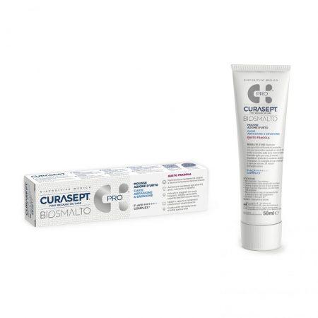 Curasept Biosmalto Pro Mousse eper 50ml