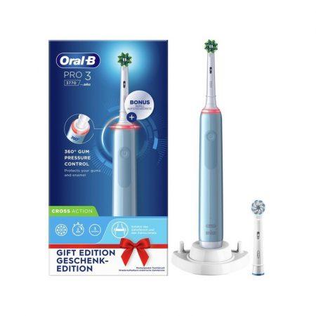 Oral-B PRO 3 3770 Blue elektromos fogkefe