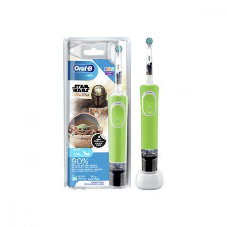 Oral-B D100 Vitality - Mandalorian gyermek elektromos fogkefe