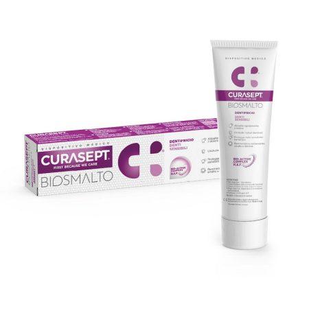Curasept Biosmalto fogkrém érzékeny fogakra 75 ml
