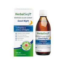 HerbalSept Köhögés elleni szirup Good Night 100 ml
