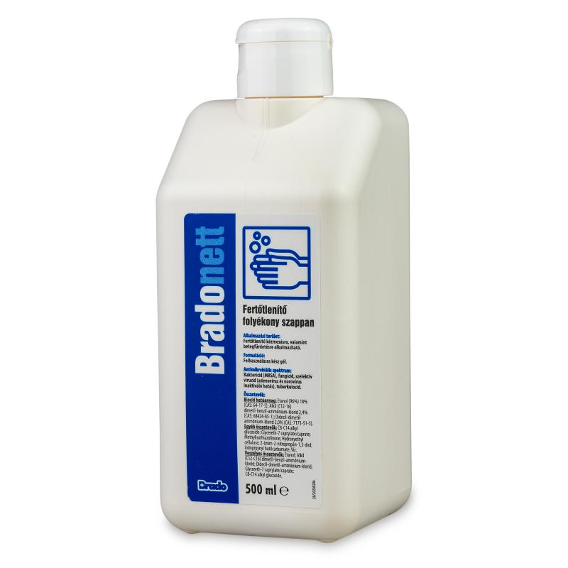 fertőtlenítő folyékony szappan 500ml
