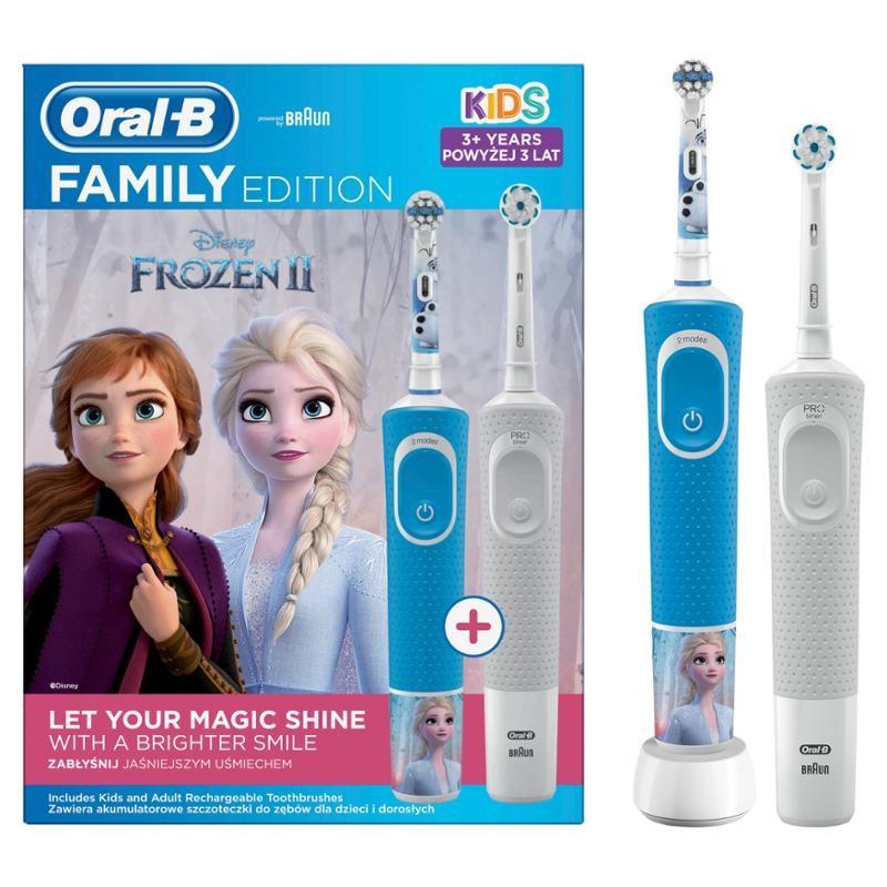 D100 Vitality White Sensi + D100 Vitality Frozen II