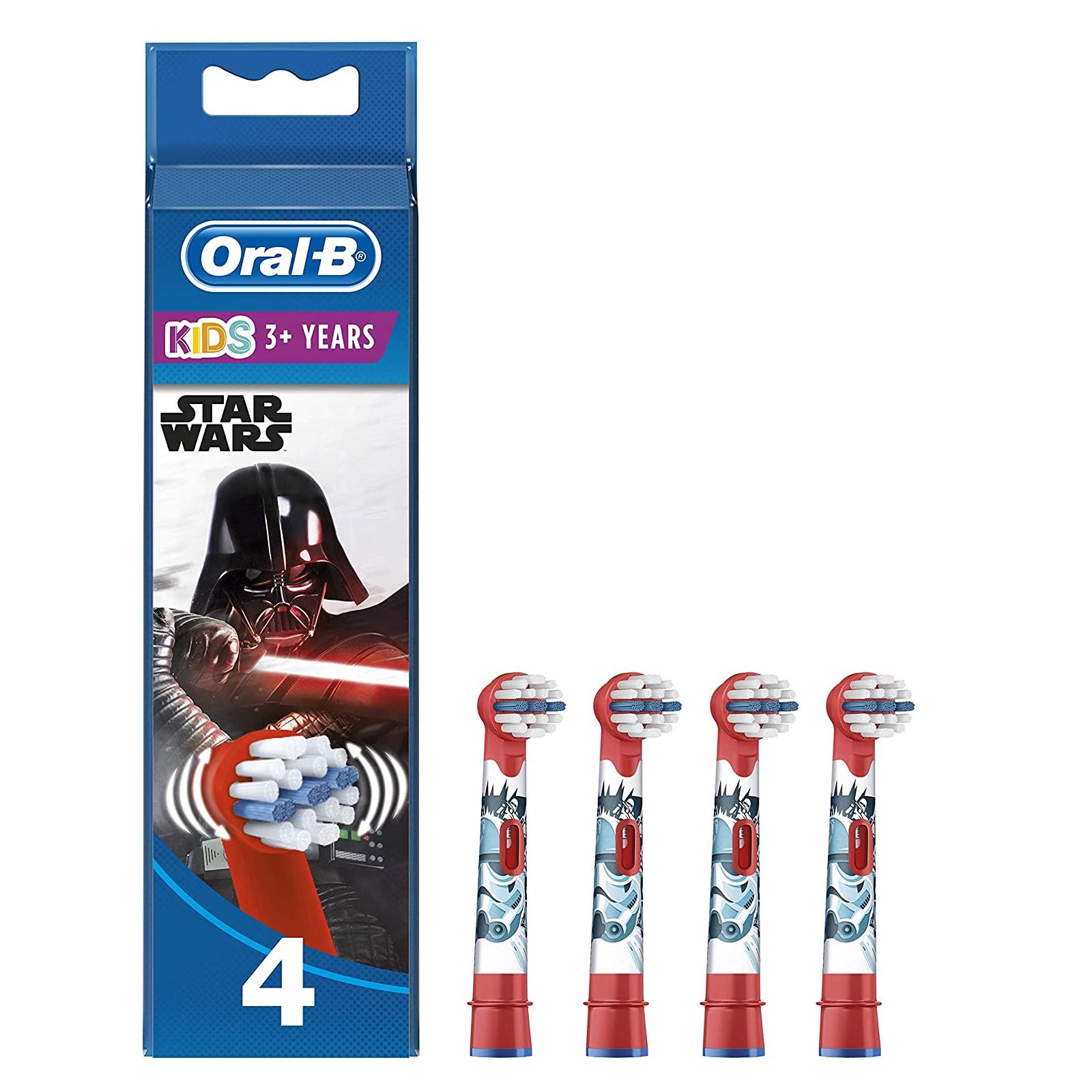 EB10-4 Stages Power gyermek fogkefe pótfej Star Wars 4db