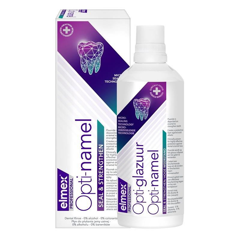 Elmex Dental Enamel Protection Professional szájvíz 400 ml Erózió ellen