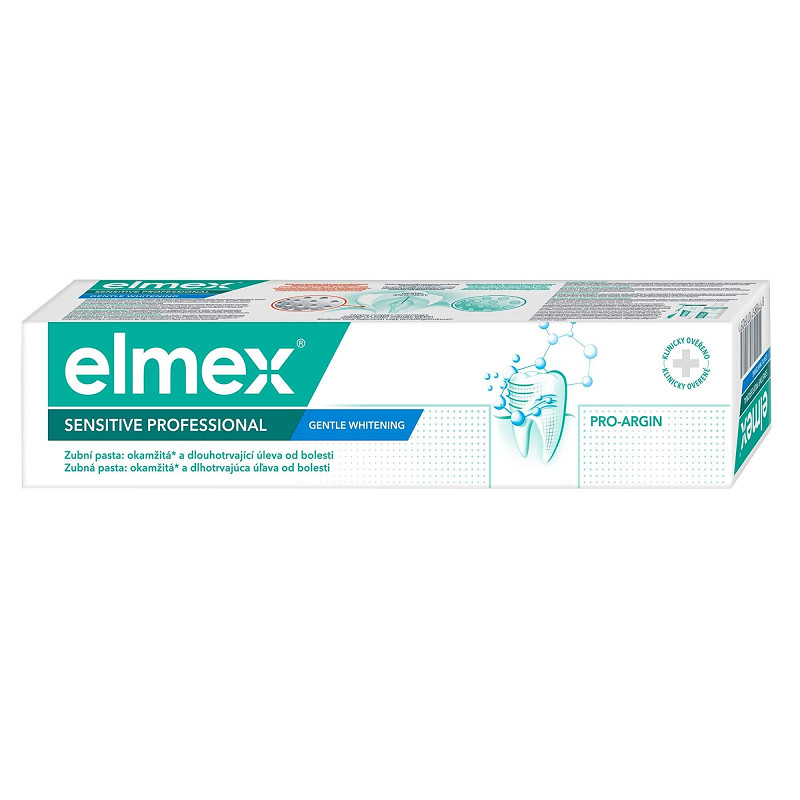 Elmex Sensitive Professional Gentle Whitening fogkrém 75ml