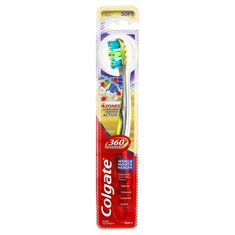 Colgate 360 Advanced Whole Mouth Health - soft