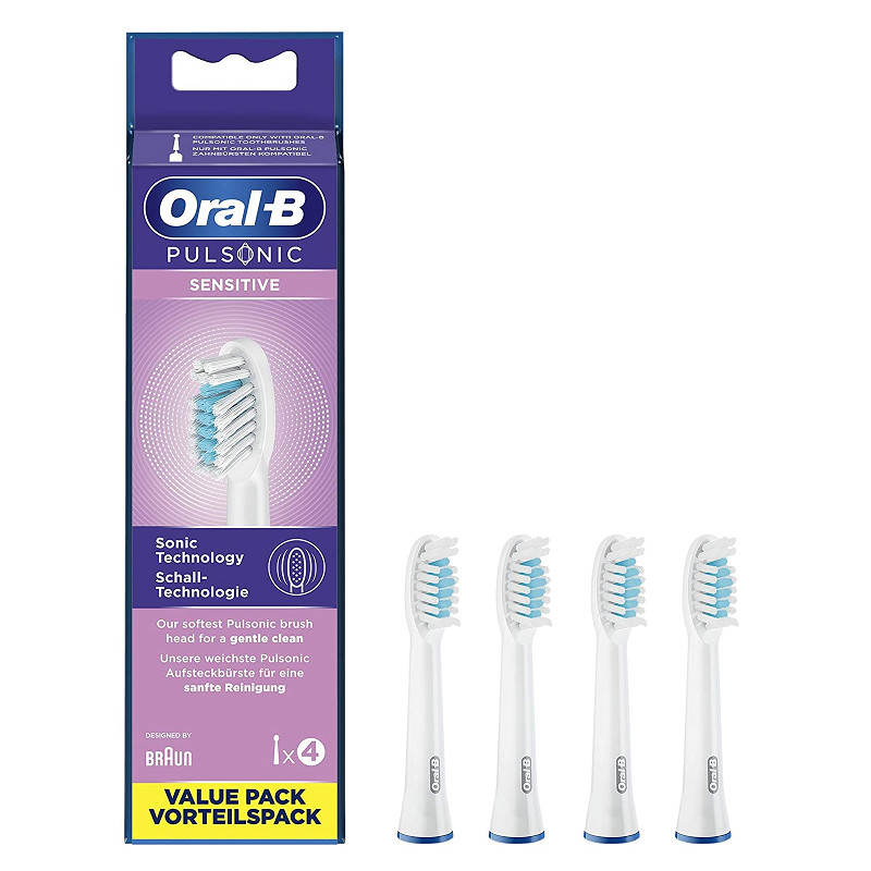 Oral-B Pulsonic Sensitive pótfej 4db